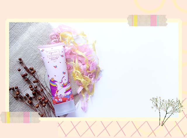 N'PURE Fruitberry Rose Almond Milk Body Lotion