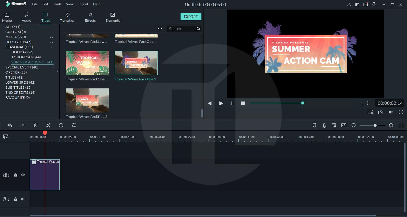 filmora 9 pack free download