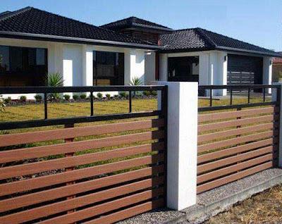 inspirasi pagar rumah minimalis untuk anda | model rumah