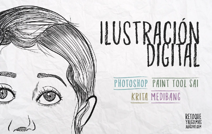 Review de programas para ilustración digital: Photoshop, Sai, Krita, Medibang