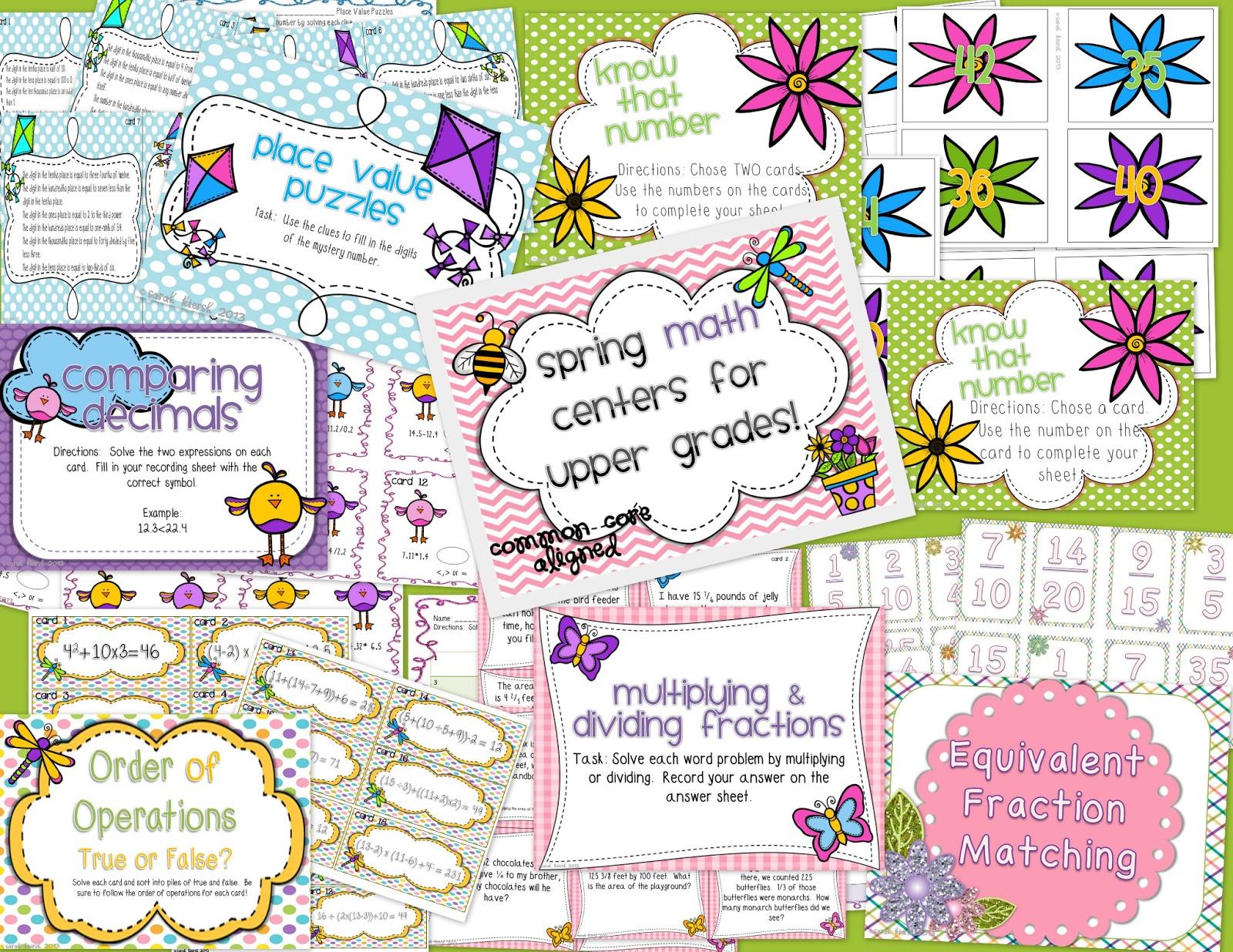 Sunshine Math 4th Grade Worksheets
