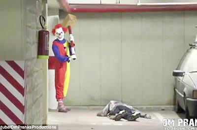 Killer Clown Returns Scare Prank! – FUNNY VIDEO
