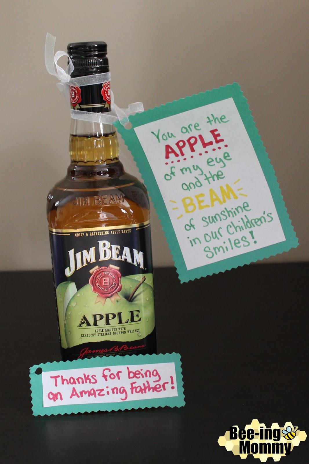 Jim Beam Apple, Jim Beam Apple Gift and Saying, Jim Beam Apple Gift,