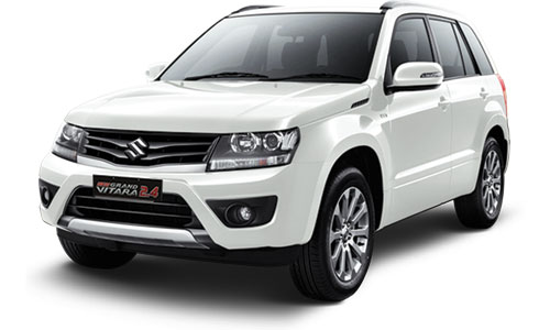NEW GRAND VITARA 2.4 PEARL WHITE