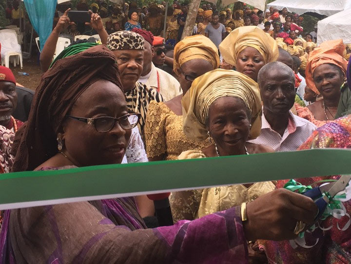 Okorocha's wife donates house to yet another widow