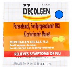 Harga Decolgen Terbaru 2017 Obat Flu