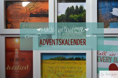 DIY Adventskalender Foto Adventskalender mit 24 liebevoll gestalteten Bildern im Adventskalendertütchen