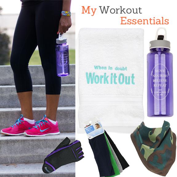 Nike Gym Sweat Towel: #31DaysOfMovement