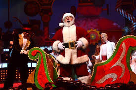 Santa Claus at Smoky Mountain Opry in the Smokies