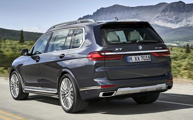 Novo BMW X7 2020