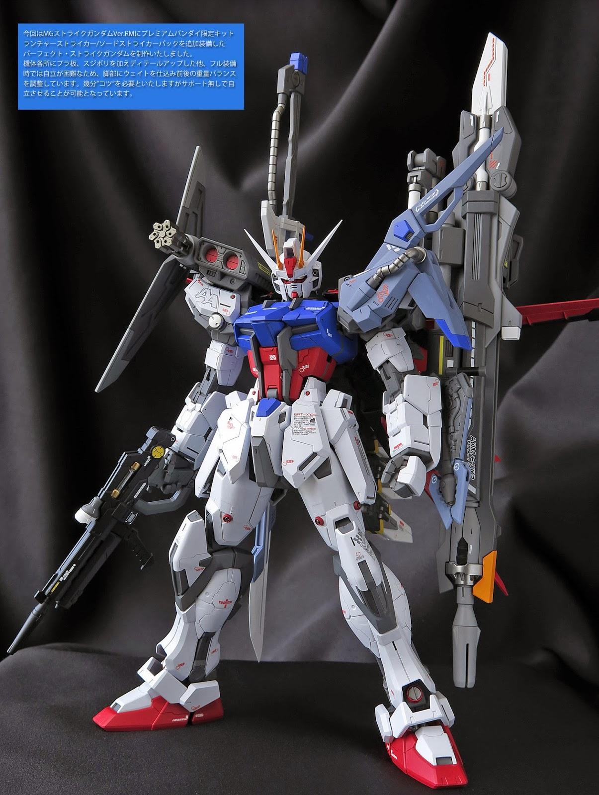 Gundam Guy Mg 1 100 Gat X105 Perfect Strike Gundam