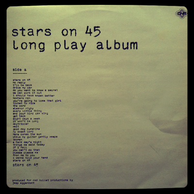 Stars on 45 -  Long Play Álbum (1981 - CNR) Portada