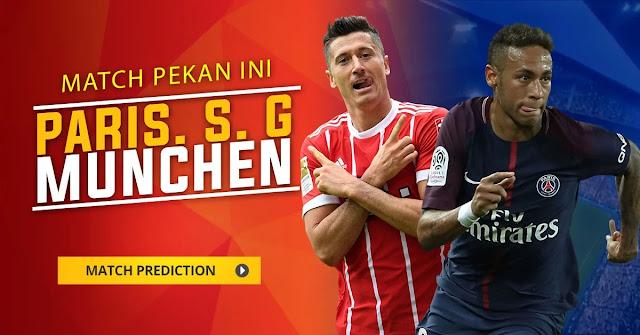 Prediksi Paris Saint Germain vs Bayern Munchen Liga Champions