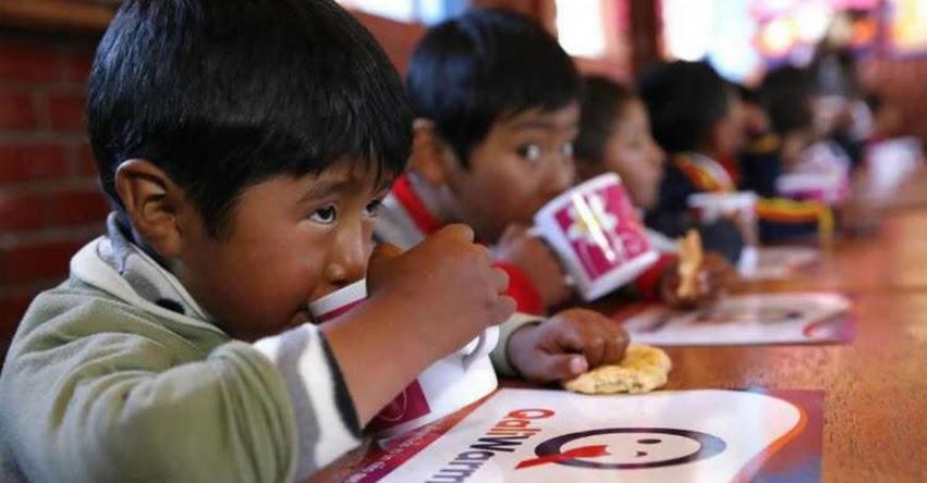 QALI WARMA: Programa social distribuyó este año más de 76,000 toneladas de alimentos a escala nacional - www.qaliwarma.gob.pe