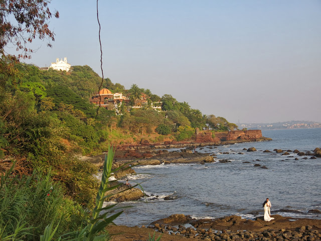 Fort Aguada, Sinquerim, Goa, India. Jimmy´s Palace