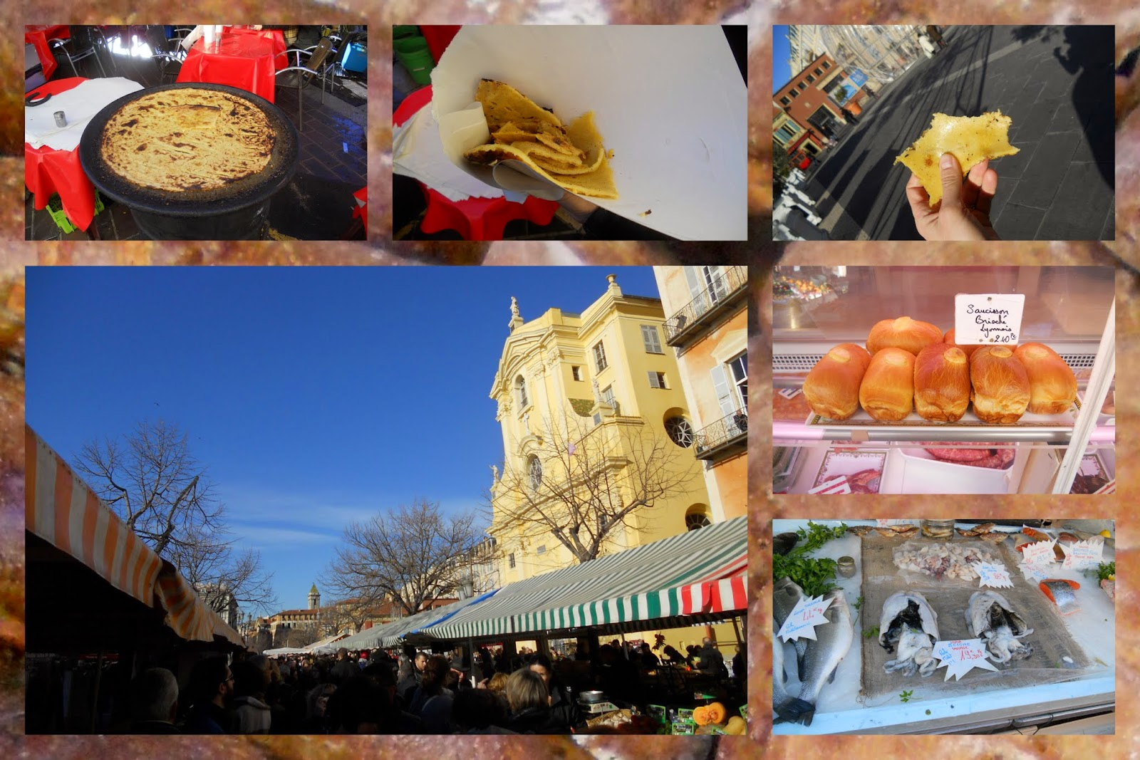 Best Food Markets in France - Cours Saleya - Nice