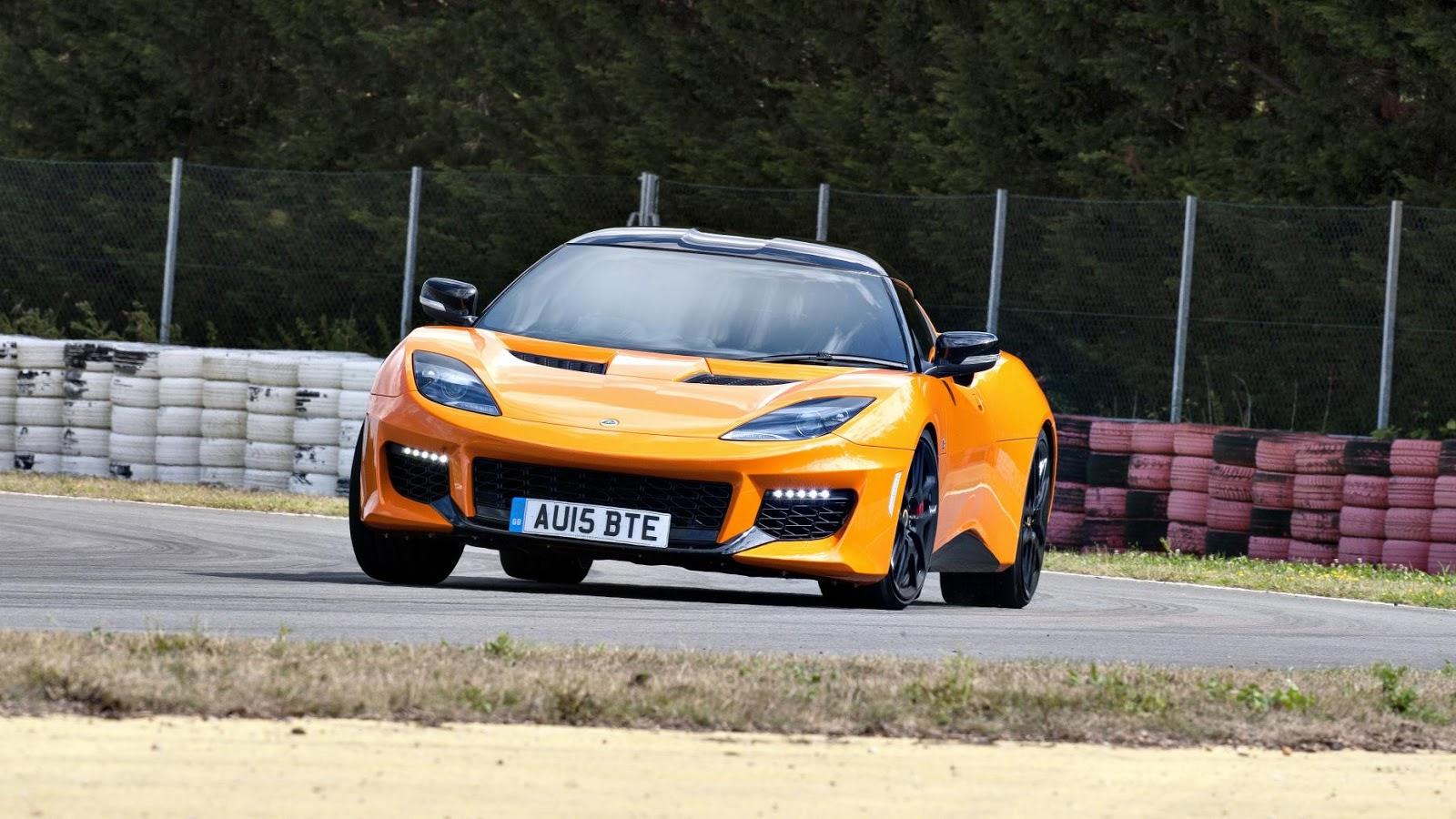 Lotus Evora 400 - tăng tốc từ 0 - 100 km/h trong 4.2secs