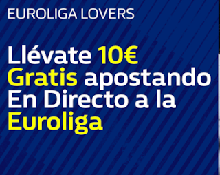 william hill promocion Euroliga 3-4 enero