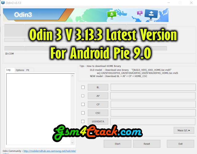 Odin3 v3.13 Latest Version For Android Pie