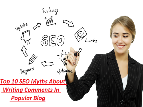 Blog Comment, Top 10 SEO Myths About Writing Comments In Popular Blog