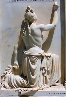 το μνημείο του Άταφου Στρατιώτη στην Ερμούπολη