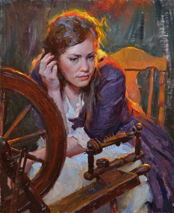 Albin Veselka ~ Emoções através da pintura