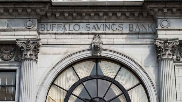 A self-guided architecture walk in downtown Buffalo: Buffalo Savings Bank