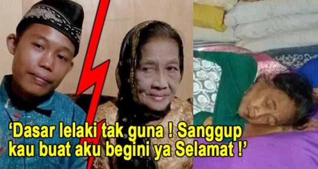 SAH!!! Rumah Tangga Bakal Musnah? Nenek Rohaya Terlantar Sakit Lepas Selamat Kantoi Menipu