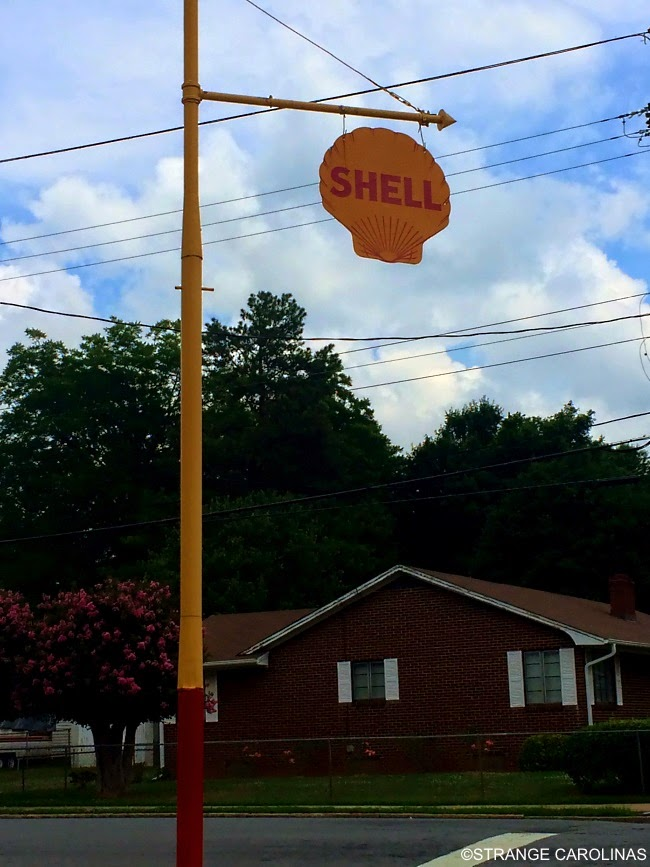 Used Cars Winston Salem Nc >> Shell-Shaped Shell Service Station (Winston-Salem, NC ...