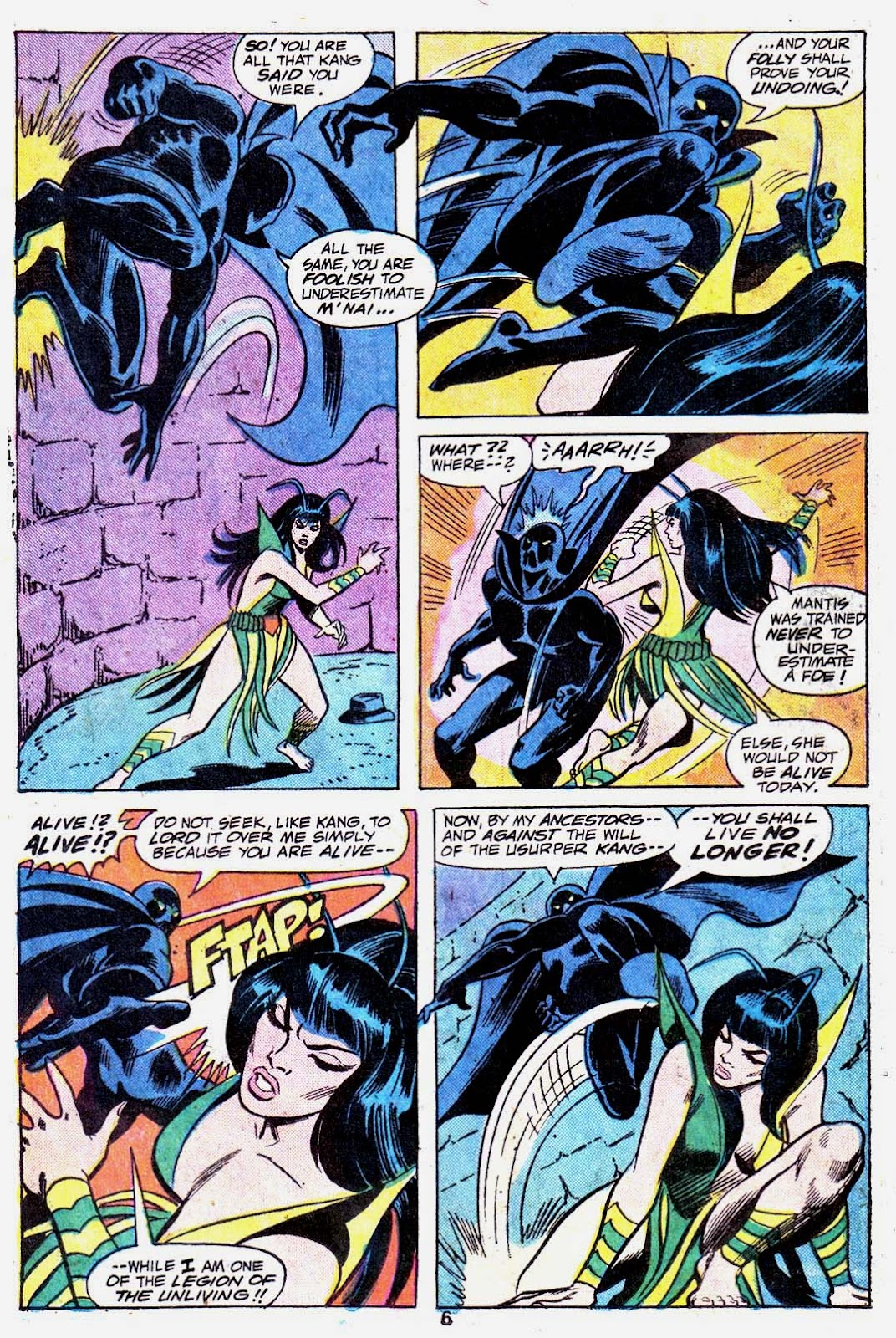 Giant-Size Avengers (1974) issue 3 - Page 8