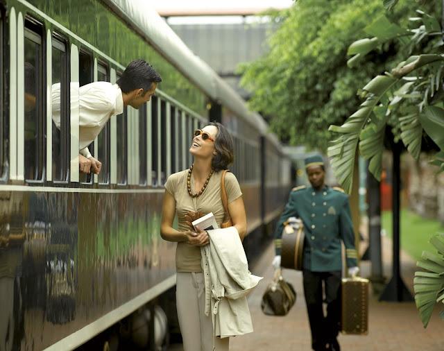 Rovos Rail Afrika, Am Bahnsteig