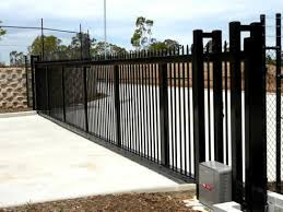 automatic gate barrier