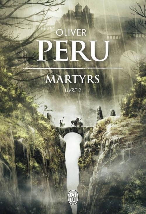 Couverture livre - critique littéraire - Martyrs