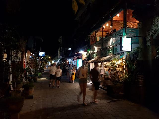 Jl Hanoman e Jalan Goutama, Ubud-Bali