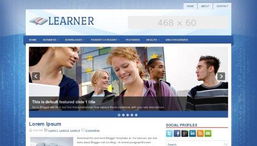 new premium educational blogger template free download  mbgadget, Presentation