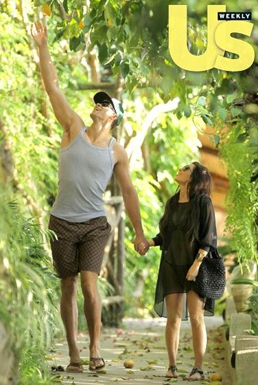 Kris Humphries and Kim Kardashian Romantic Honeymoon