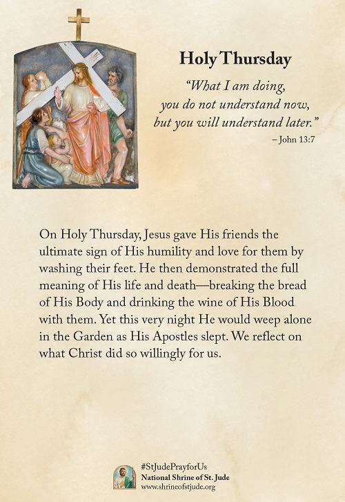 Holy Thursday, Maundy Thursday