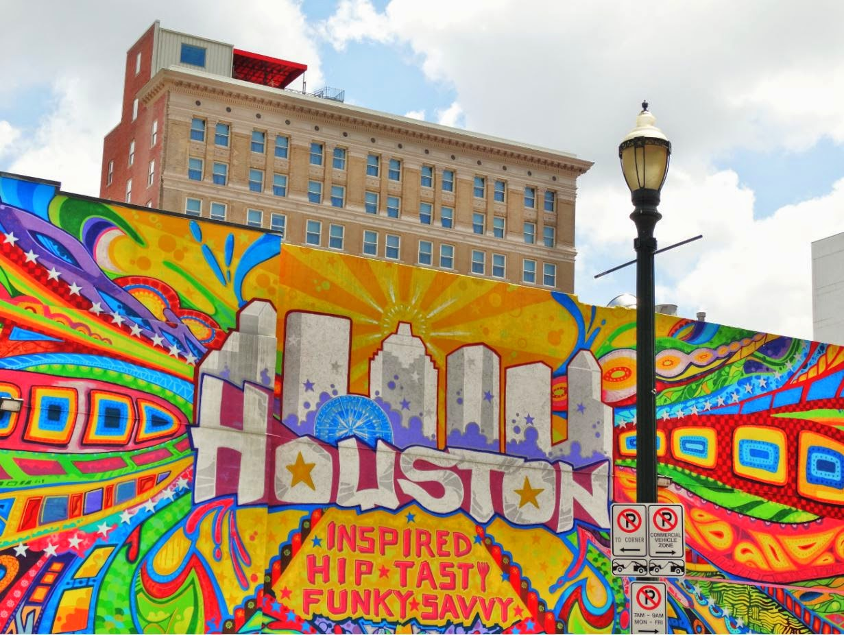 houston in pics houston art wall there are several notable murals in downtown and midtown. Black Bedroom Furniture Sets. Home Design Ideas