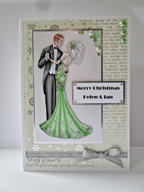 Confessions Of Papersniffer Art Deco Christmas Cards