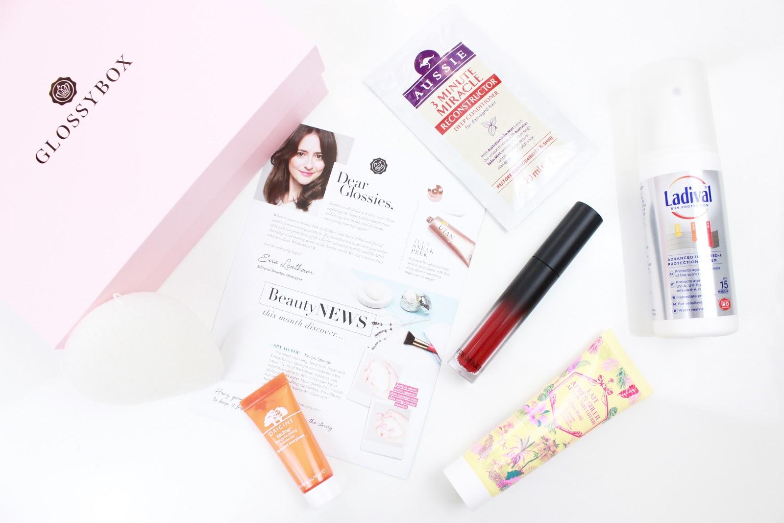 Glossy box June 2016
