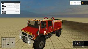 CCF Mercedes firefighters truck