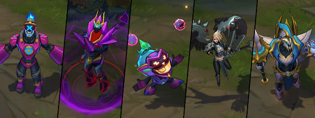 Surrender at 20: 7/27 PBE Update: Arcade Minions Enabled ...
