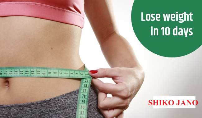Exercise to Lose Weight Fast at Home in 10 Days - Shiko Jano