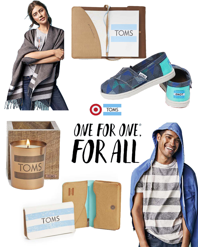 TOMS for target collaboration for the holidays