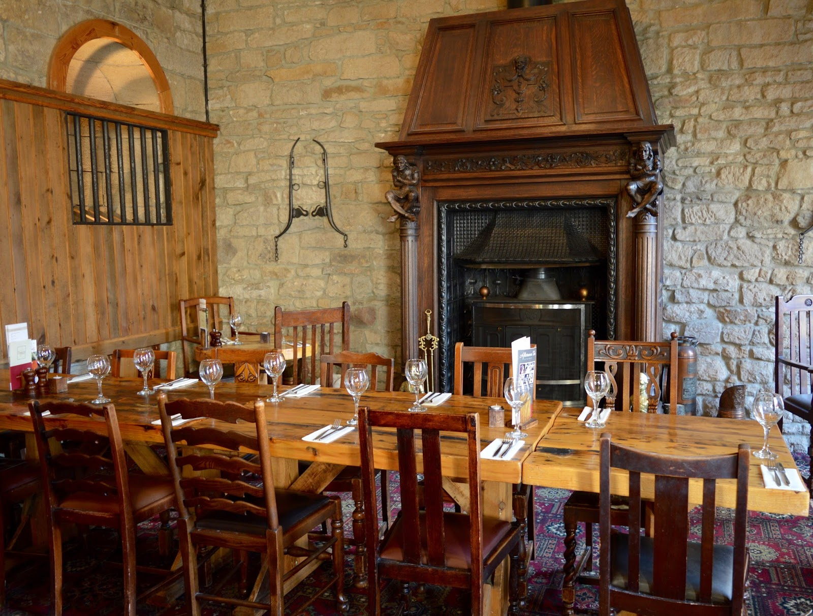 The Stables Beamish Hall | Sunday Lunch Review | Inside seating