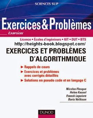 Télécharger Livre Gratuit Exercices et problèmes d'algorithme pdf