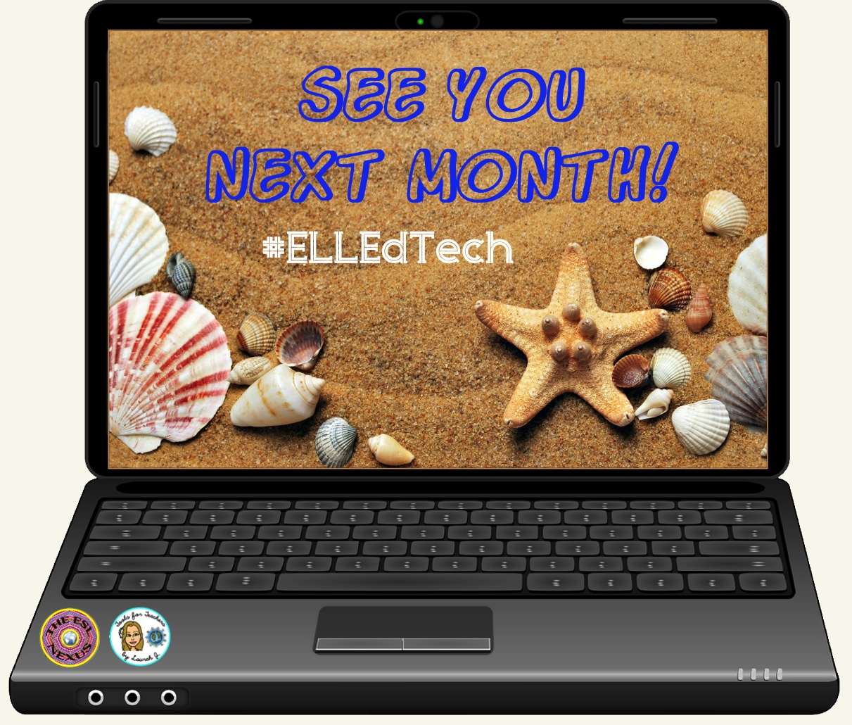 The #ELLEdTech Twitter chat is going on vacation in July but returns in August; in the meantime, click on the links in this short blog post to read our previous chats & find out how to use Twitter for PD purposes.