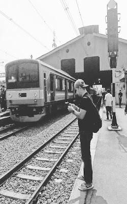 kereta menuju kota Bogor