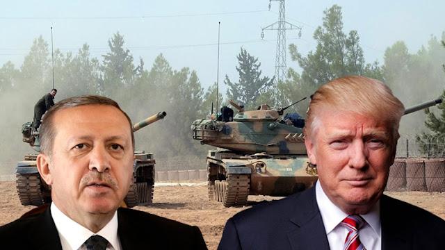 O Tραμπ πρέπει να διαλέξει μεταξύ Ερντογάν και Κούρδων