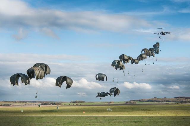 Record Breaking drop RAF Atlas
